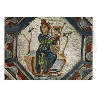 Orpheus Charming the Animals Card