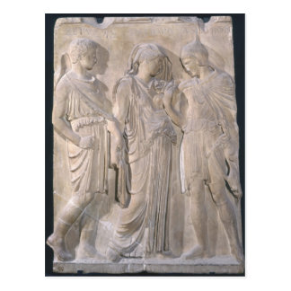 Orpheus, Eurydice and Hermes Postcard