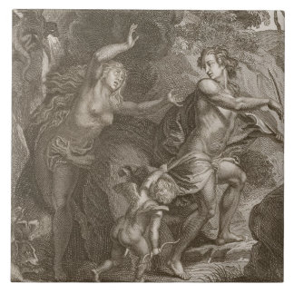 Orpheus, Leading Eurydice Out of Hell, Looks Back Tiles
