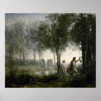 Orpheus Leading Eurydice Poster