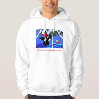 Orque vilaine ou gentille veste à capuche
