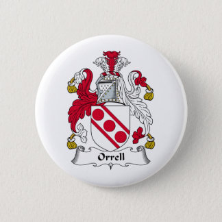 Orrell Family Crest 2 Inch Round Button