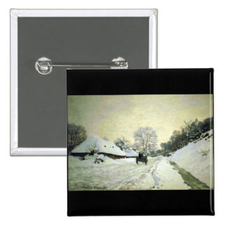 Orsay-brut by Claude Monet Pinback Button