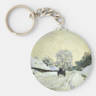 Orsay-brut by Claude Monet Key Chains