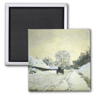 Orsay-brut by Claude Monet Magnets