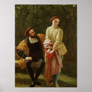 Orsino and Viola Print