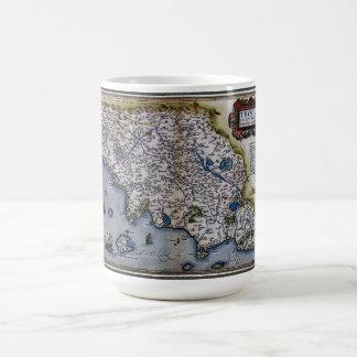 Ortelius' Thvsciae Coffee Mug