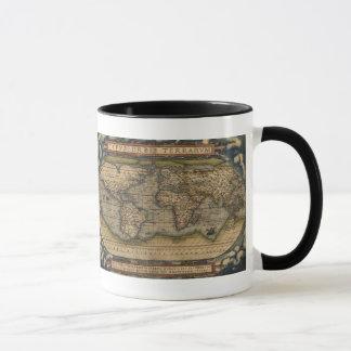 Ortelius World Map 1570 Mug