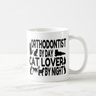 Orthodontist Cat Lover Coffee Mug