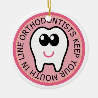 Orthodontist Tooth Ornament Keepsake Gift