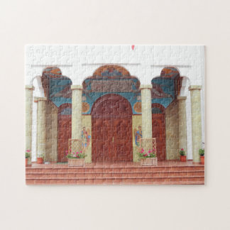Orthodox Cathedral Entrance Jigsaw Puzzle