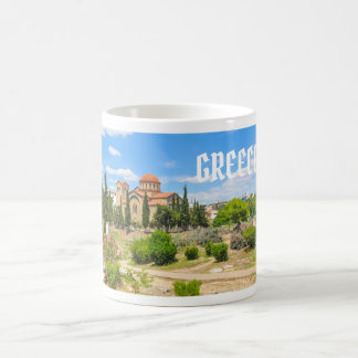 Orthodox cathedral in Athens, Greece Coffee Mug