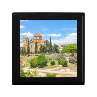 Orthodox cathedral in Athens, Greece Gift Box