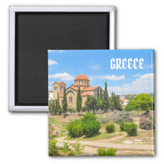 Orthodox cathedral in Athens, Greece Magnet