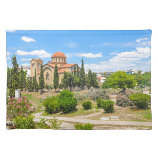 Orthodox cathedral in Athens, Greece Placemat
