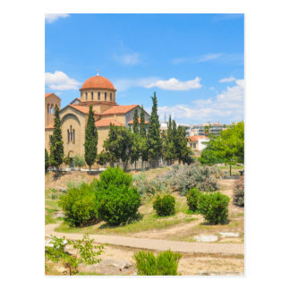 Orthodox cathedral in Athens, Greece Postcard