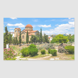 Orthodox cathedral in Athens, Greece Sticker
