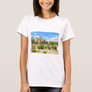 Orthodox cathedral in Athens, Greece T-Shirt