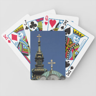Orthodox Christian Church domes Bicycle Playing Cards
