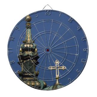 Orthodox Christian Church domes Dartboard