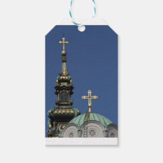 Orthodox Christian Church domes Gift Tags