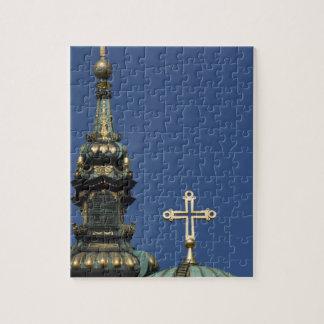 Orthodox Christian Church domes Jigsaw Puzzle