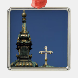 Orthodox Christian Church domes Metal Ornament