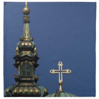Orthodox Christian Church domes Napkin