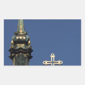 Orthodox Christian Church domes Sticker