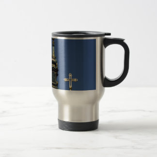 Orthodox Christian Church domes Travel Mug
