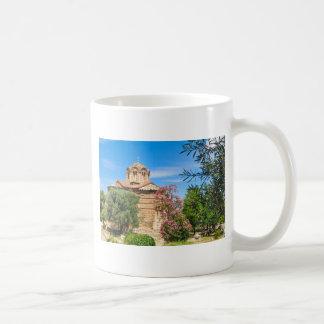 Orthodox church in Athens, Greece Coffee Mug