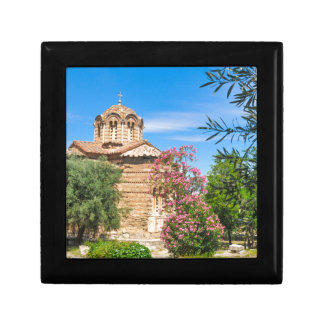 Orthodox church in Athens, Greece Gift Box