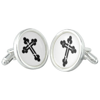 Orthodox cross cuff links
