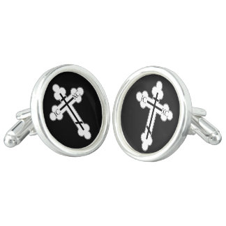 Orthodox cross cufflinks