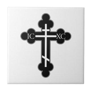 Orthodox cross tile