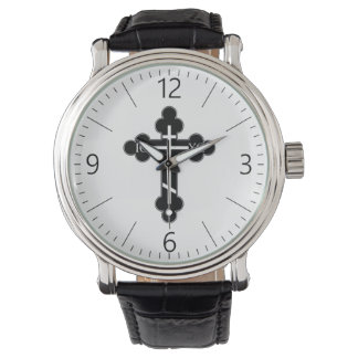 Orthodox cross watch