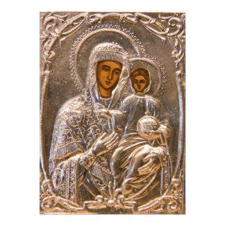 Orthodox icon cards
