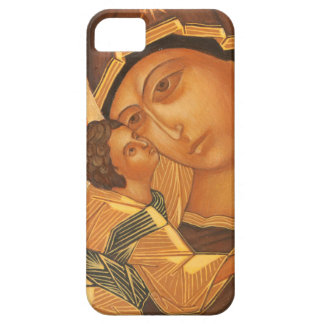 Orthodox Icon of Virgin Mary and Baby Jesus iPhone 5 Cover