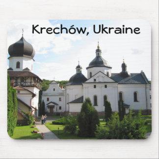 Orthodox Monastery in Krechow, Ukraine Mouse Pad