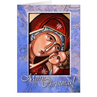 Orthodox Nativity Greeting Card