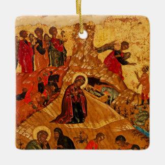 Orthodox Nativity Icon Ornament