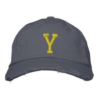 Orthographiez-le casquette de boule de la lettre i casquette de baseball