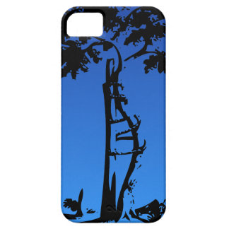 Orthopedic Crooked Tree on Lighter Gradient Case For The iPhone 5