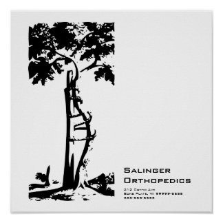 Orthopedic Crooked Tree Poster