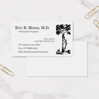 Orthopedic Surgeon Crooked Tree Business Card