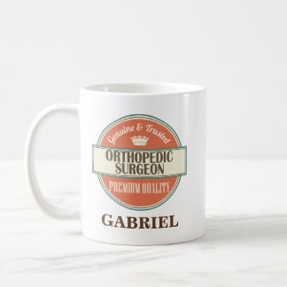 Orthopedic Surgeon Personalized Office Mug Gift