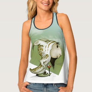 ORTO ALIEN MONSTER 2 AllOverPrint RacerbackTankTop Tank Top