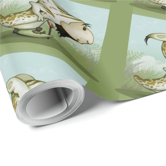 "ORTON ALIEN 30"" x 60'     CARTOON Wrapping Paper"