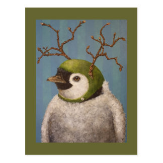 Orville the penguin postcard