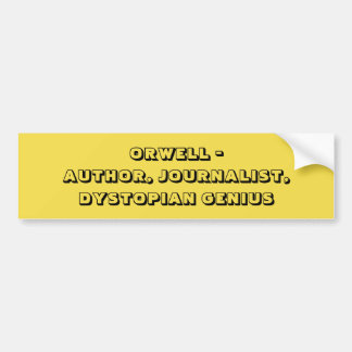Orwell Bumper Sticker